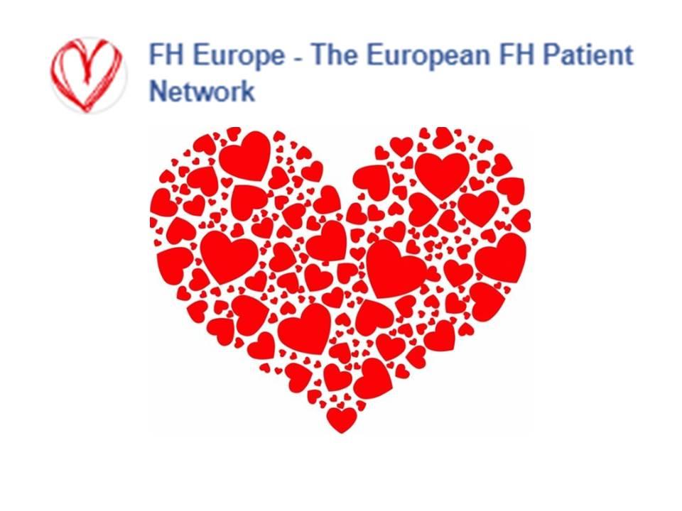 Semana e dia mundial do Colesterol Hereditario ou Hipercolesterolemia Familiar (FH), 2019 - Rede Europeia de Associaçoes de FH