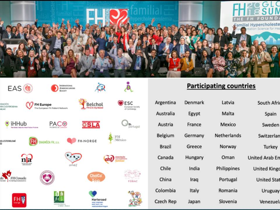 Representatives of the Global Familial Hypercholesterolemia  Community